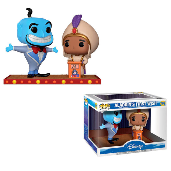 Figura POP Disney Movie Moment Aladdin Genie