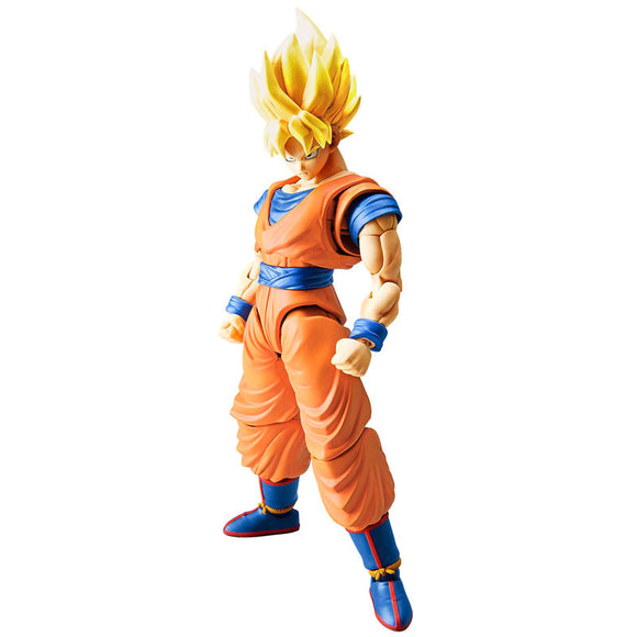 Figura Super Saiyan Son Goku Model Kit Dragon Ball Z 16cm