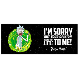 Taza Your Opinion Rick & Morty