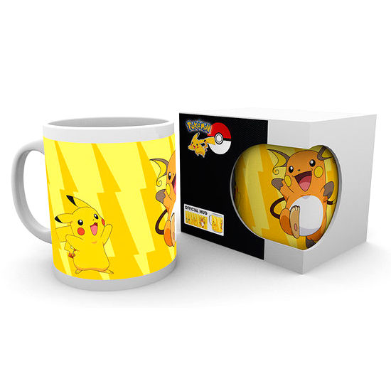 Taza Pikachu Evolve Pokemon