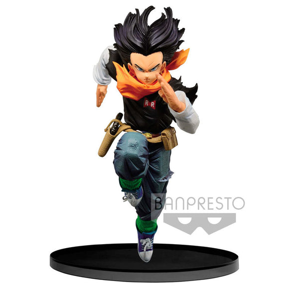Figura Androide 17 Banpresto World Figure Colosseum - Dragon Ball Z