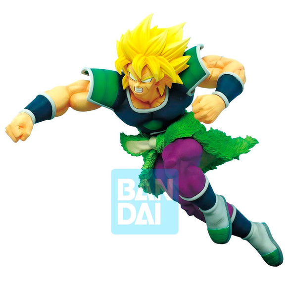 Figura Super Saiyan Broly Z Battle Dragon Ball Super 19cm