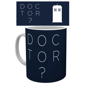 Taza Doctor Who Doctor Who Type