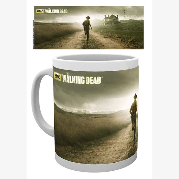 Taza The Walking Dead Running