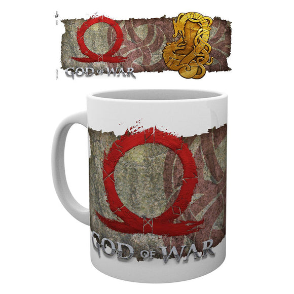 Taza God of War Norse