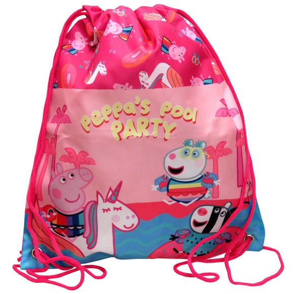 Saco Peppa Pig Pool Party 34cm