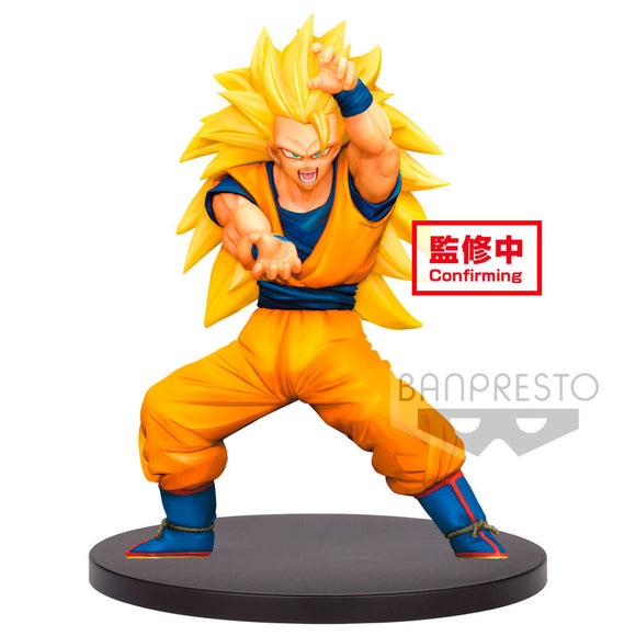 Figura Super Saiyan 3 Son Gokou Dragon Ball Super Chosenshiretsuden vol. 4 16cm
