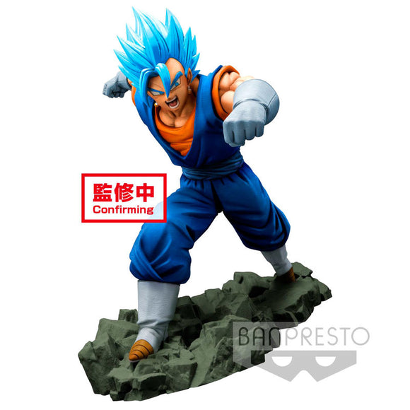 Figura Super Saiyan God Super Saiyan Vegetto Dokkan Battle Dragon Ball Z 16cm