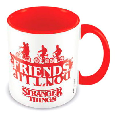 Taza Friends Dont Lie Stranger Things