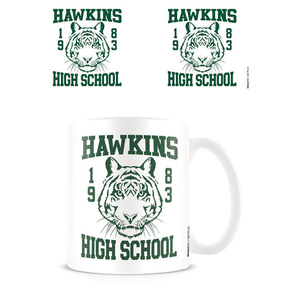 Taza Hawkins High School Stranger Things