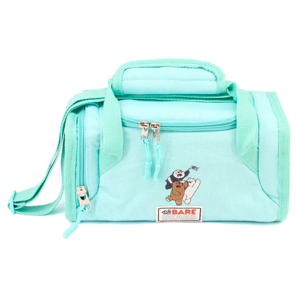 Bolsa portameriendas We Bare Bears menta