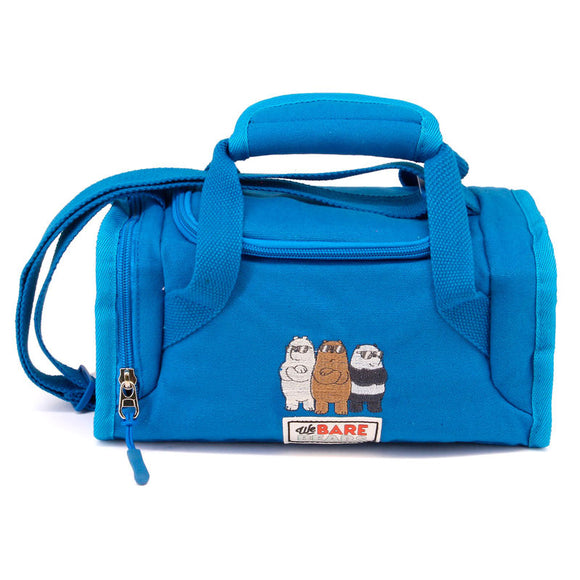 Bolsa portameriendas We Bare Bears azul