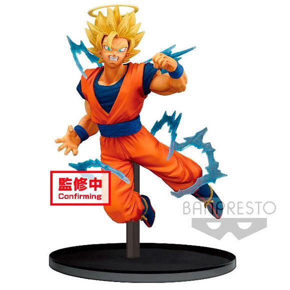 Figura Super Saiyan 2 Goku Angel Dokkan Battle Dragon Ball Z 15cm