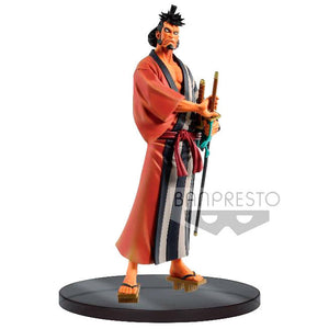 Figura Wanokuni Kin Emon The Grandline Men DXF One Piece 17cm