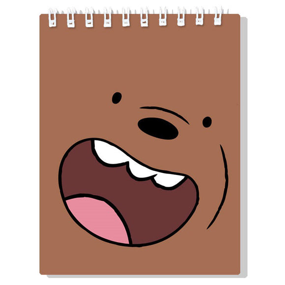 Libreta Oso Pardo We Bare Bears