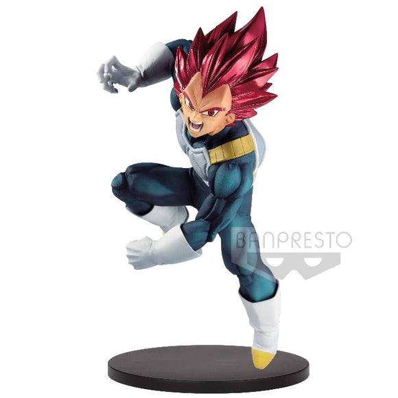 Figura Super Saiyan God Vegeta Dragon Ball Super Bood of Saiyans Special VII 20cm