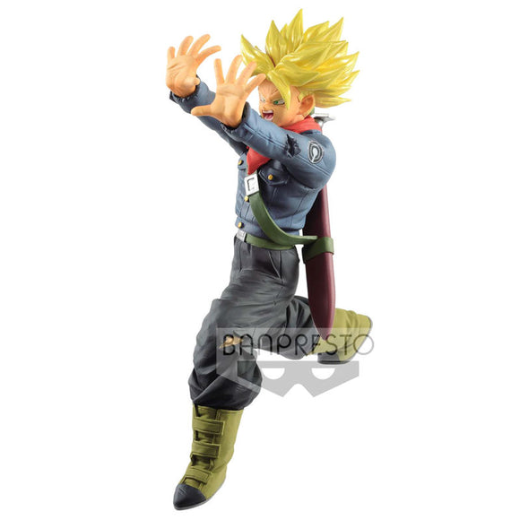 Figura Super Saiyan Trunks Future Galick Gun Dragon Ball Super 17cm
