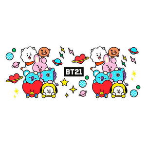 Taza Characters Stack BT21