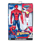 Figura Titan Power Fx Spiderman Marvel 30cm