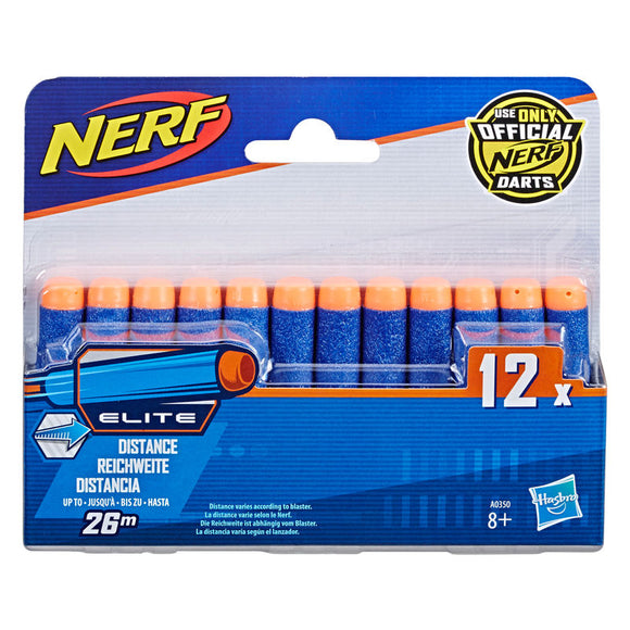 Set 12 Dardos Nerf Elite