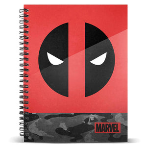 Cuaderno A5 Deadpool Marvel