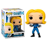 Figura POP Marvel Los 4 Fantasticos Invisible Girl