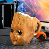 Taza 3D Groot Guardianes de la Galaxia Marvel