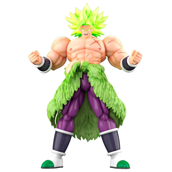 Figura Super Saiyan Broly Fullpower Model Kit Dragon Ball Super 23cm