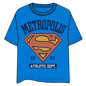 Camiseta Metropolis Superman DC Comics adulto