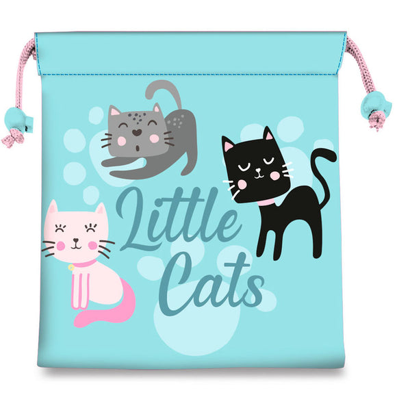 Bolsa merienda Little Cats