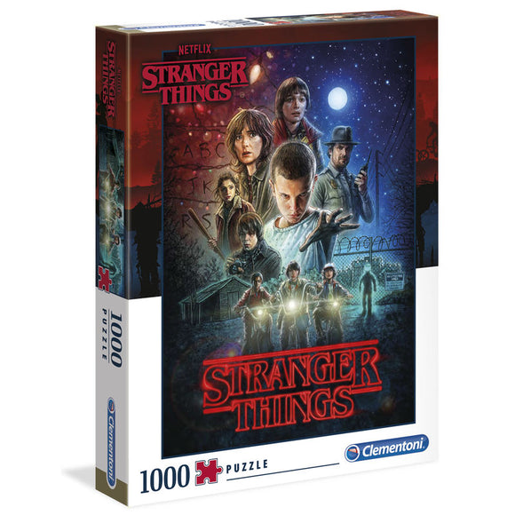Puzzle Poster Temporada 1 Stranger Things 1000pz