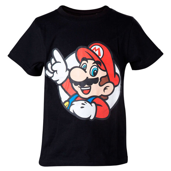 Camiseta Kids Super Mario Bros Nintendo