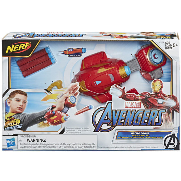 Rayo Repulsor Iron Man Vengadores Marvel