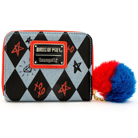 Cartera Birds of Prey Harley Quinn DC Comics Loungefly