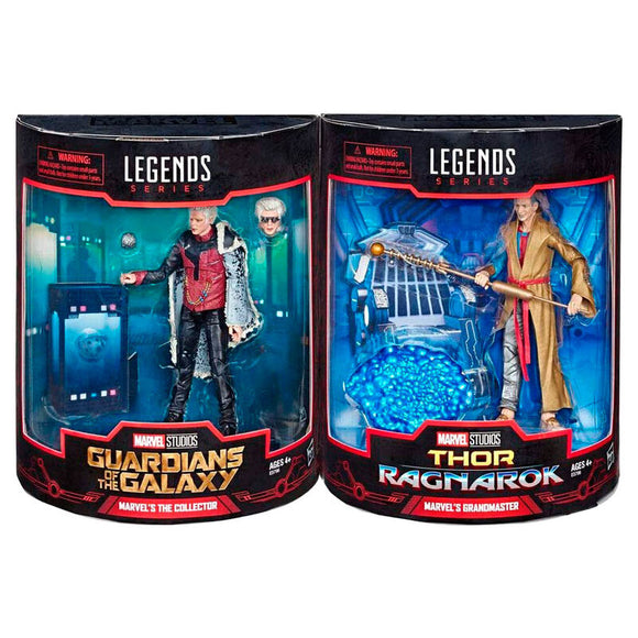 Pack 2 figuras Grandmaster + The Collector Marvel Legends