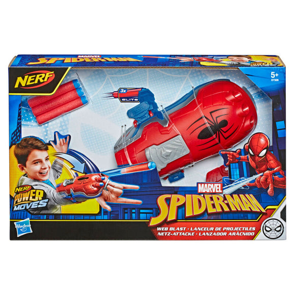 Lanzador Aracnido Spiderman Marvel Nerf