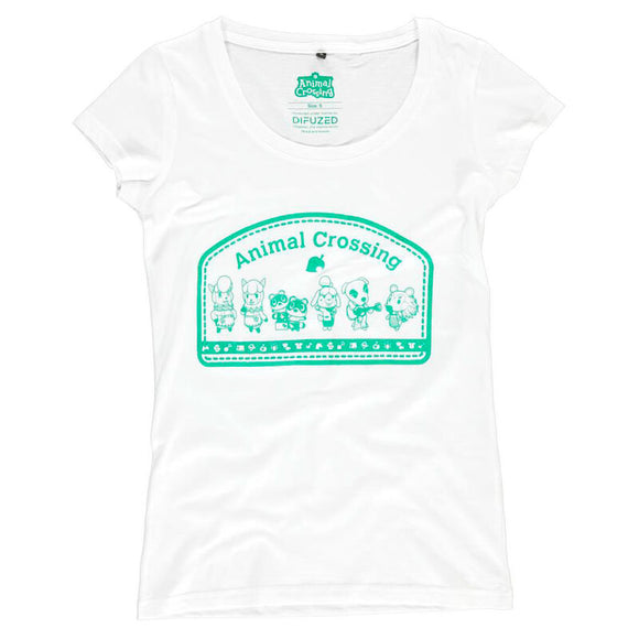 Camiseta mujer Animal Crossing Nintendo