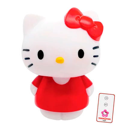 Lampara Led 3D Hello Kitty