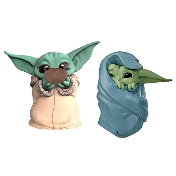 Pack 2 figuras Yoda The Child Star Wars