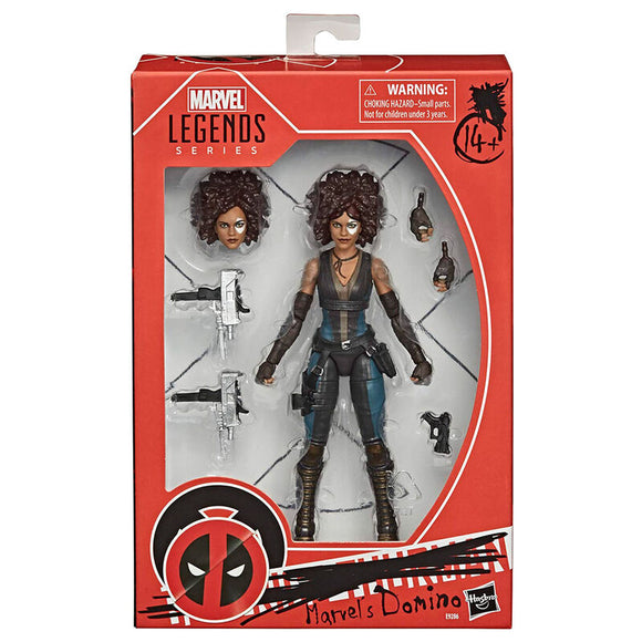 Figura Domino Deadpool Marvel 15cm