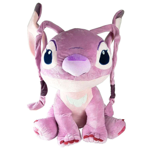 Peluche Angel Stitch Disney soft 55cm