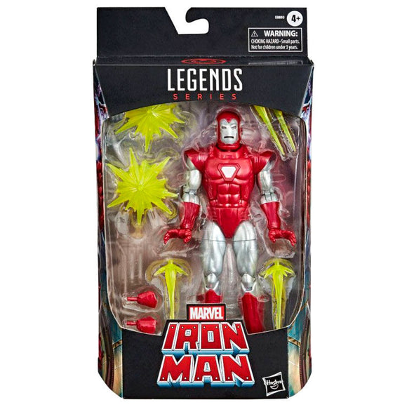 Figura Iron Man Silver Centurion Marvel Legends 15cm