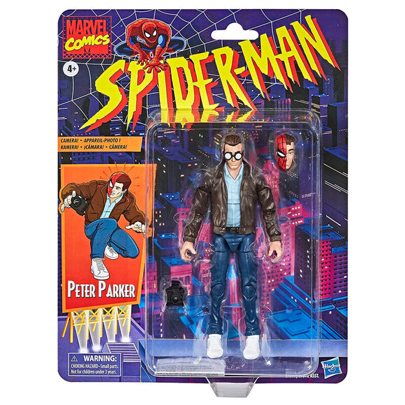 Figura Peter Parker Spiderman Marvel 15cm