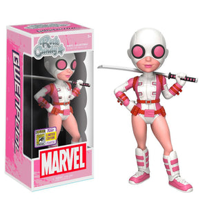 Figura Vinyl Rock Candy Marvel Gwenpool SDCC 2017 Exclusive