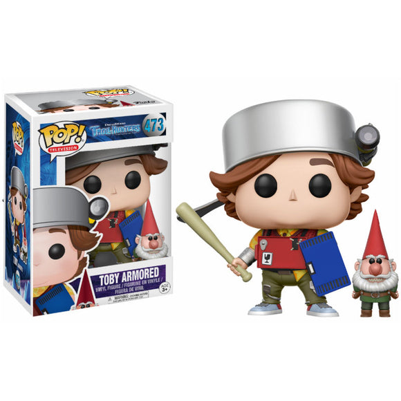 Figura POP Trollhunters Toby armored with gnome Exclusive
