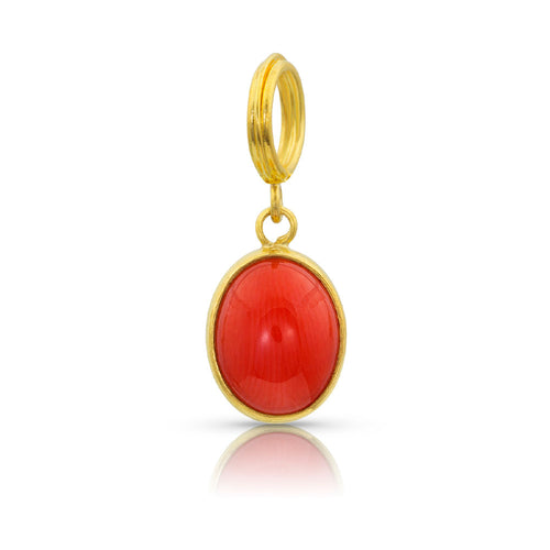 Red Coral Charm