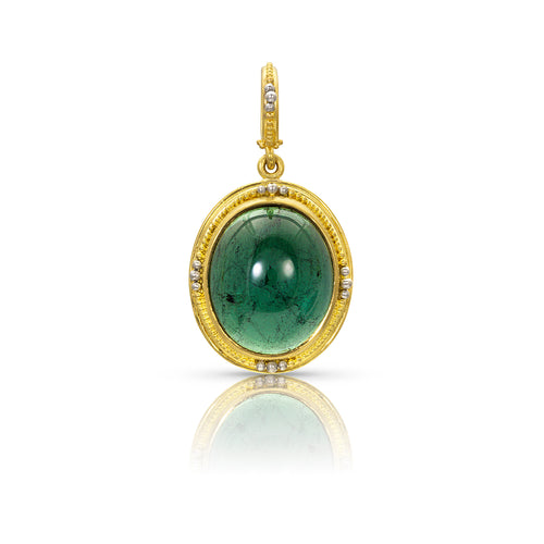Green Tourmaline Revival Charm