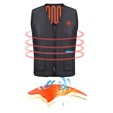 Outdoor Riding Skiing Fishing Electric Heated Vest