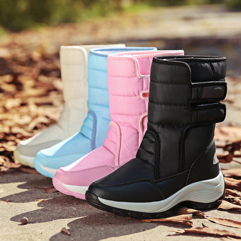 Plus velvet warm snow boots