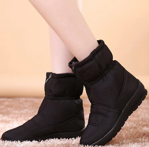 Lady warm boot for winter